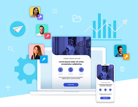 Plataforma d'email màrqueting multicompte