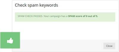 Free anti-spam analyzer