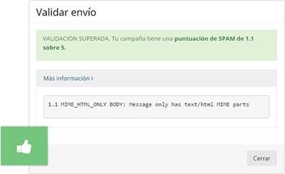 Analizador anti-spam gratuito