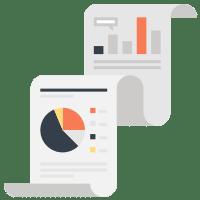Descarga e impresión de informes de estadísticas