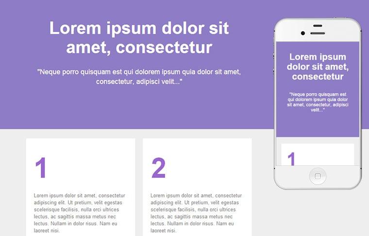 Plantilla de mailing - Four Steps