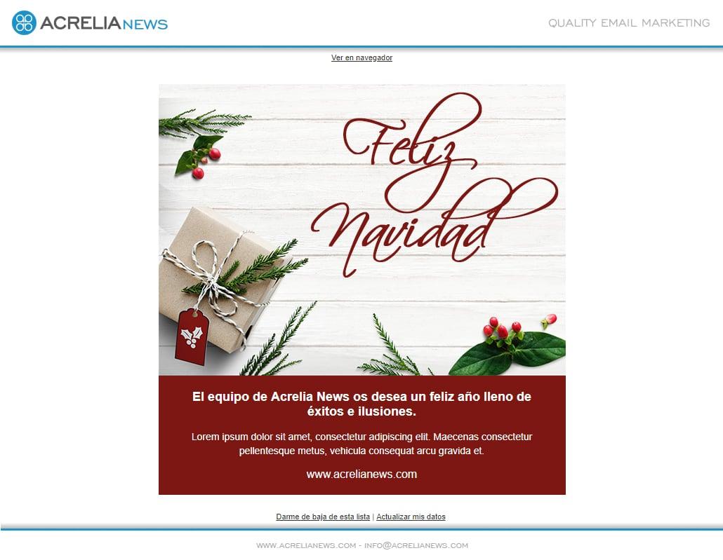 Plantilla Christmas Card