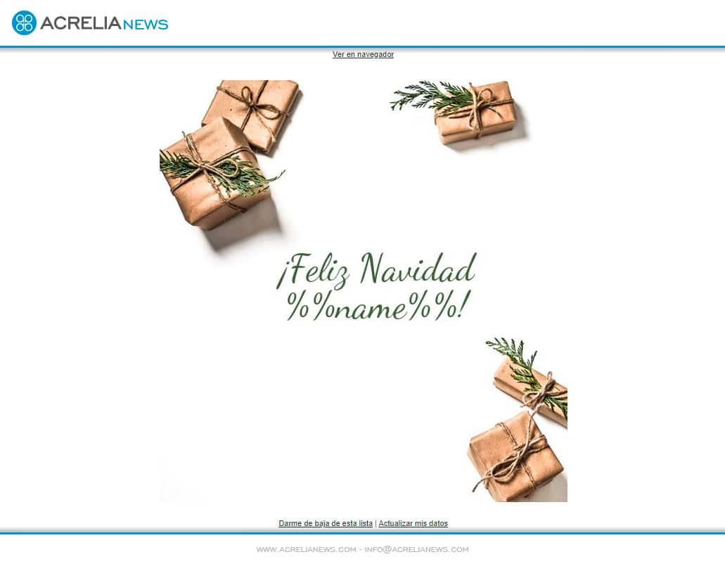 Plantilla Postal de Navidad personalizada