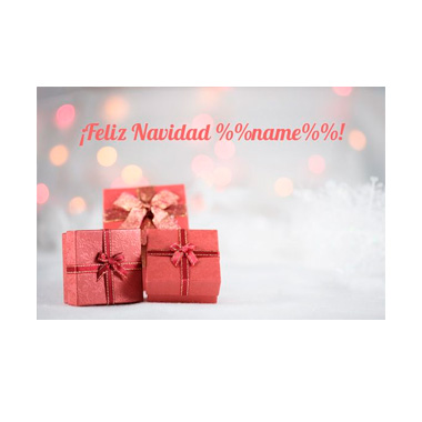 Email template Christmas: Personalized template 5