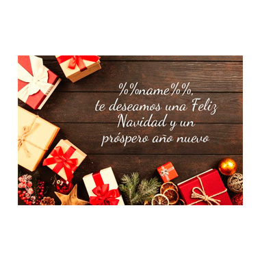 Email template Christmas: Personalized template 6