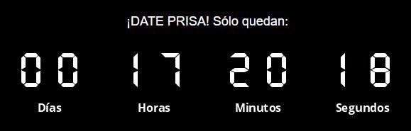 Countdown timer Acrelia News