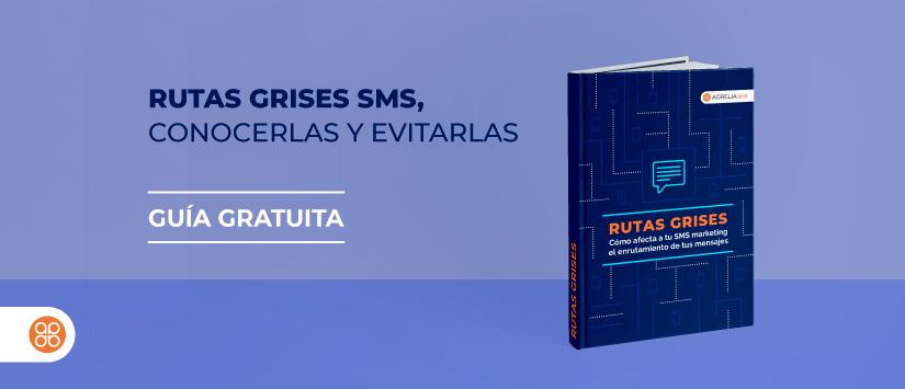 Guía en pdf: Rutas grises SMS