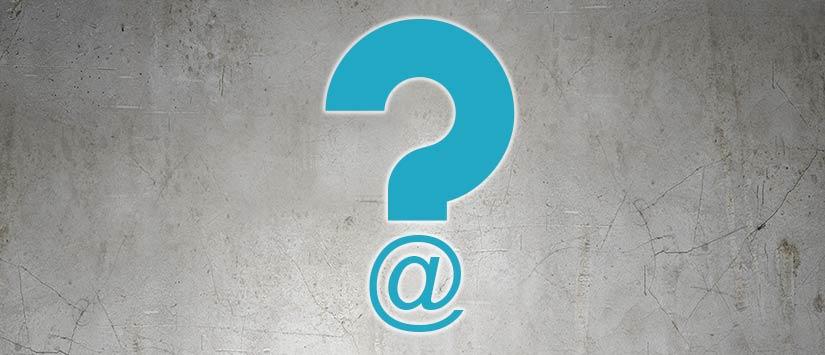 Com saber si existeix una adreça de correu electrònic