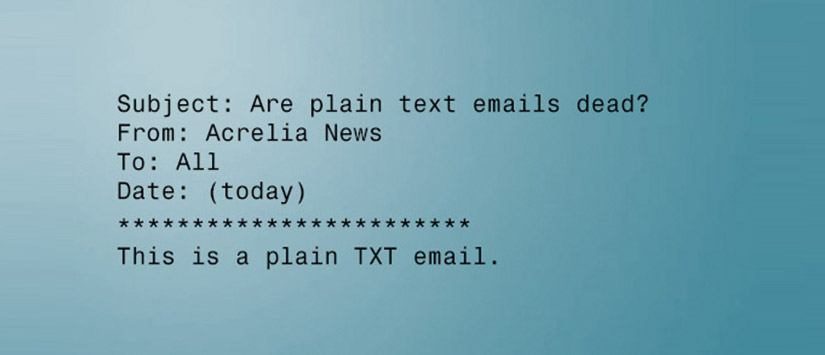 """Imagen ¿Para qué sirve la versión """"texto plano"""" en una newslet"""