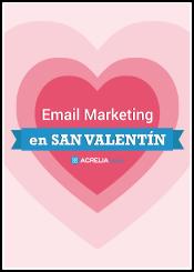 Email Màrqueting a Sant Valentí