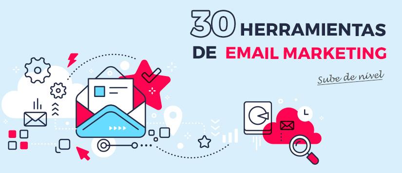 30 herramientas imprescindibles para tu email marketing