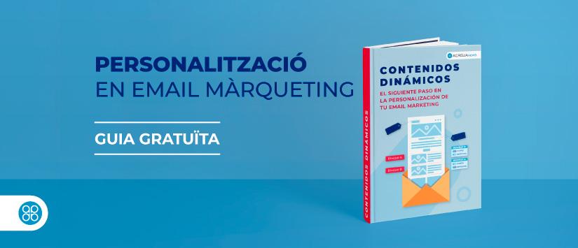 Imagen Guia en pdf: Personalització en email màrque