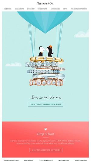 ilustraciones personalizadas en newsletters - Tiffany
