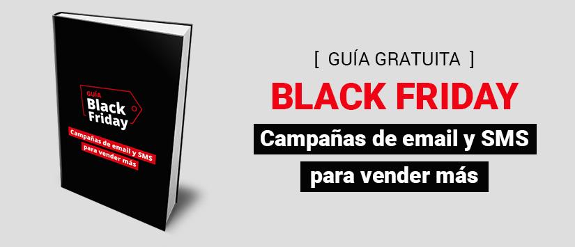 Guía en pdf: Black Friday, campañas de email y SMS para vender más