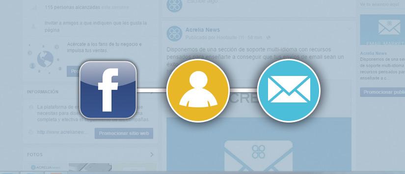 Facebook como herramienta de email marketing