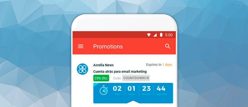 Novedades en la pestaña promociones de Gmail