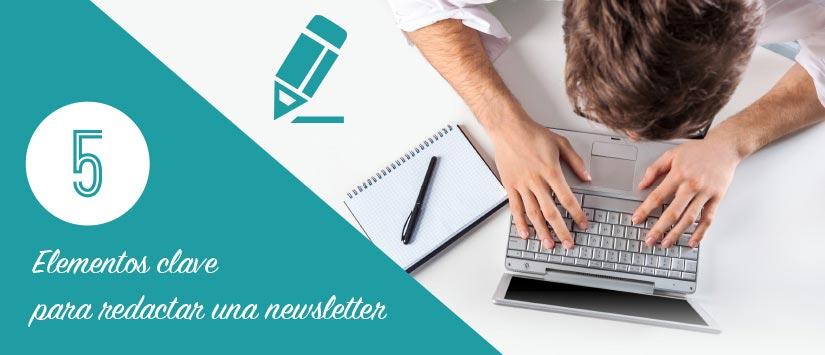 Guía en pdf: 5 elementos clave para redactar una newsletter