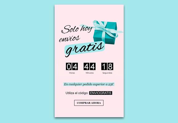 Imagen Plantilla de newsletter para campañas de email de última