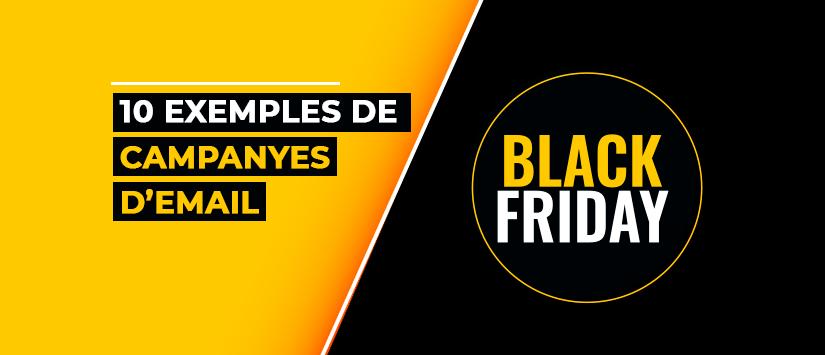 10 exemples de campanyes d'email per a Black Friday