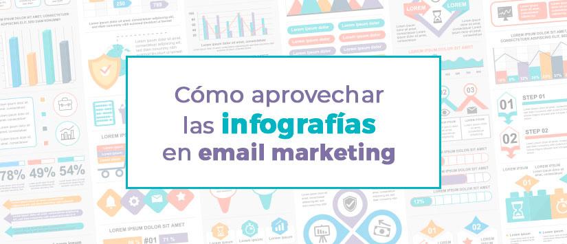Cómo aprovechar las infografías en tu email marketing