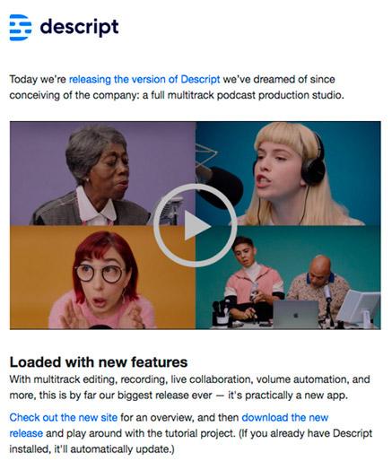 Imagen Newsletter con video inspirac