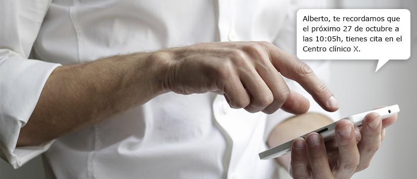 Campañas de SMS para centros de salud y clínicas