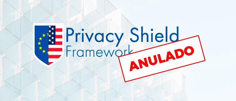 """Imagen """"Privacy Shield"""" anulado: Los datos personales europeos no podrán transferirse a servidores en EE"""