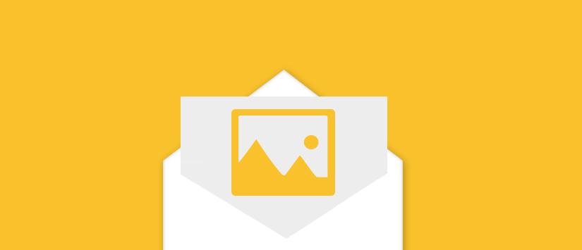 5 razones por las que no debes enviar un email solo con imágenes
