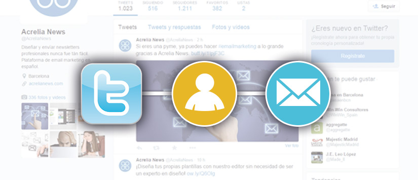 Imagen Formes de fer servir Twitter per aconseguir nous subscrip