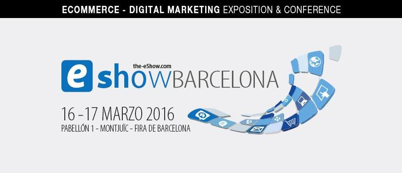 Invitaciones eShow Barcelona 2016