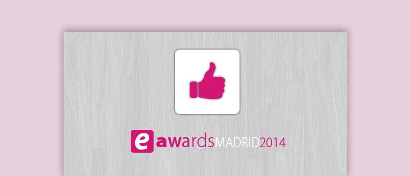 ¿Podemos ser tu premio? Vota por Acrelia News en los eAwards