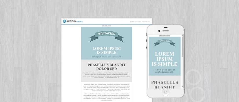 Plantilla: Invitation Soft
