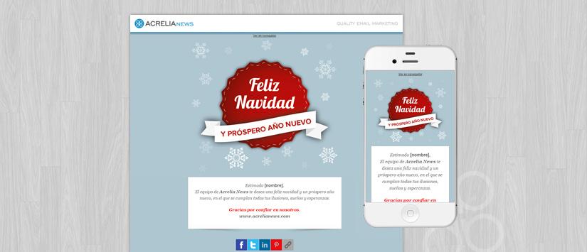 Plantilla: Christmas label