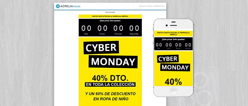Plantilla Cyber Monday
