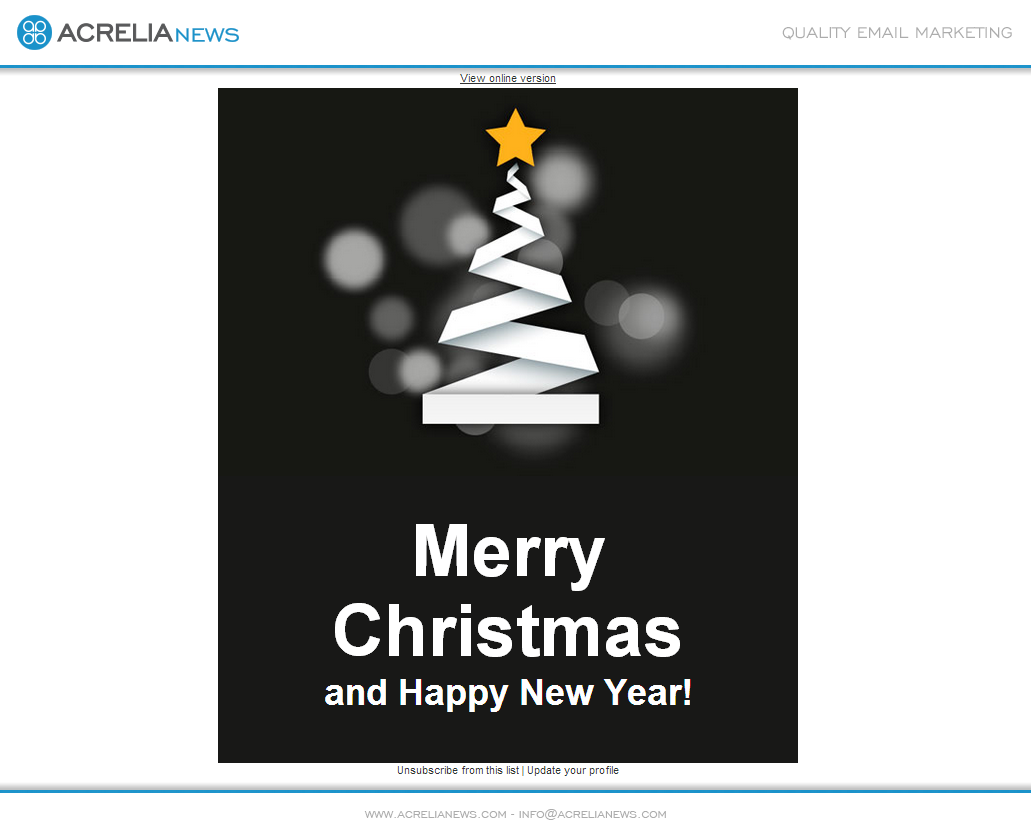 Email Christmas Cards.Corporate Christmas Cards Blog Acrelia News