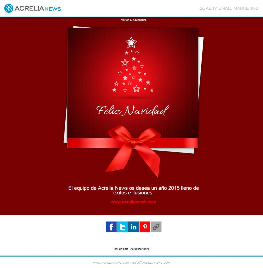Plantilla: Feliz Navidad | Blog Acrelia News